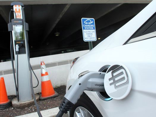 EV Chargers at Hunterdon Medical Center